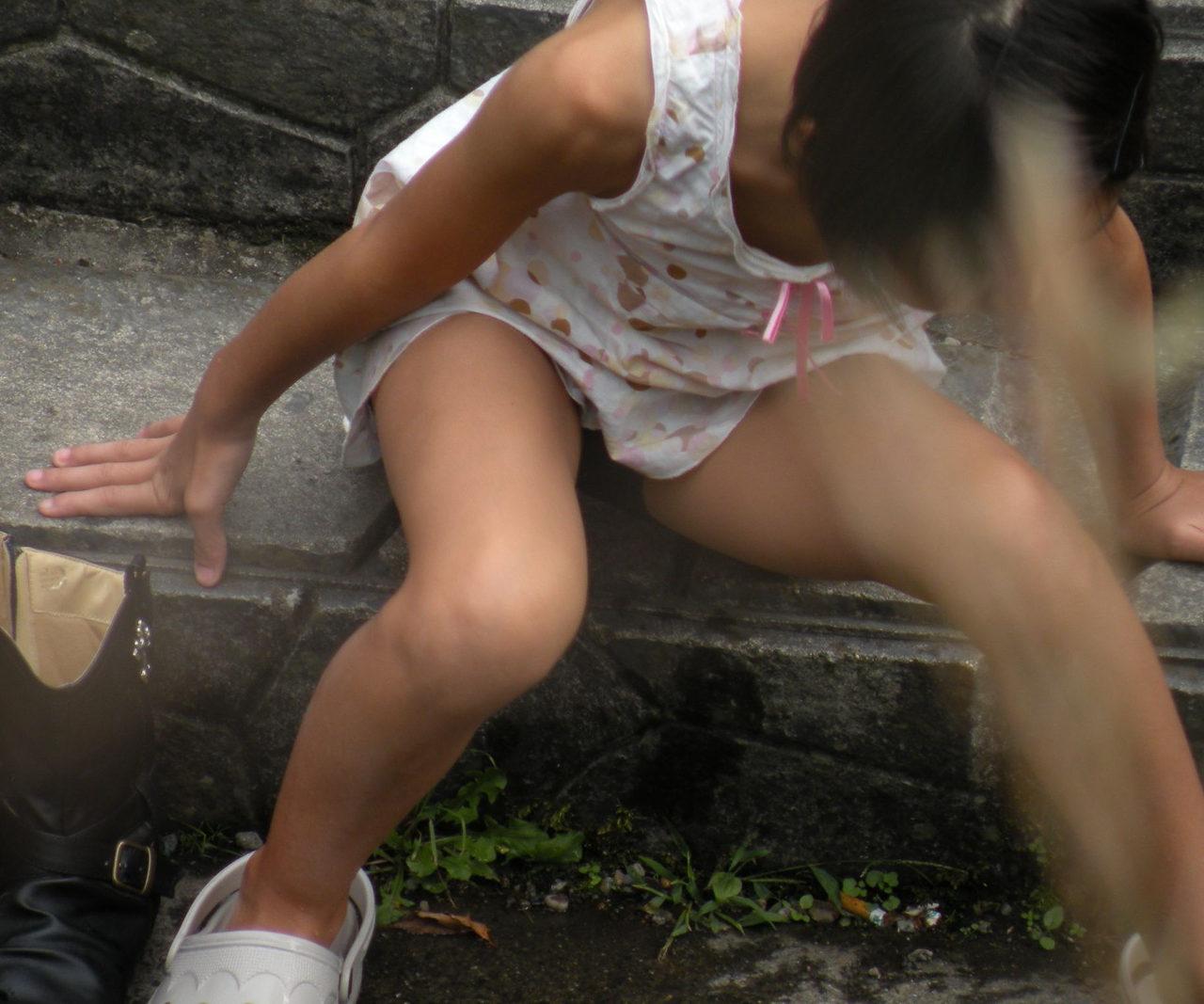 盗撮 けしからん 【U15街撮り画像】イマドキのJCが大人過ぎてけしからん盗撮風の街撮り画像