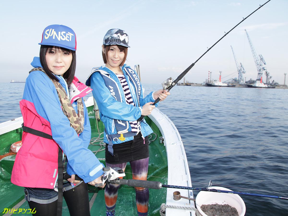 AVプロダクション対抗チキチキ海釣り大会 PART2 楓乃々花 桜瀬奈