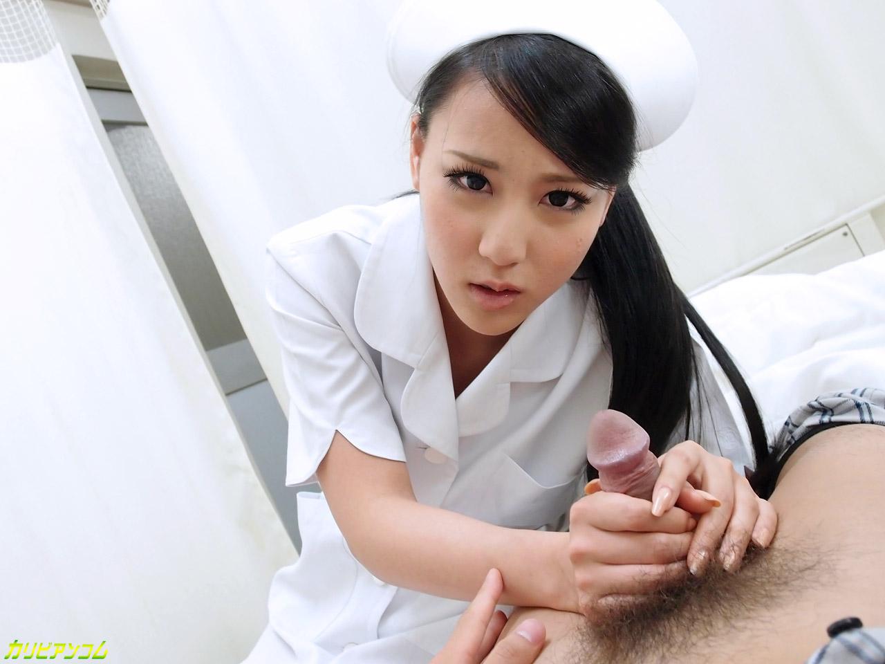 パイパンナースの剃毛チン察 あずみ恋