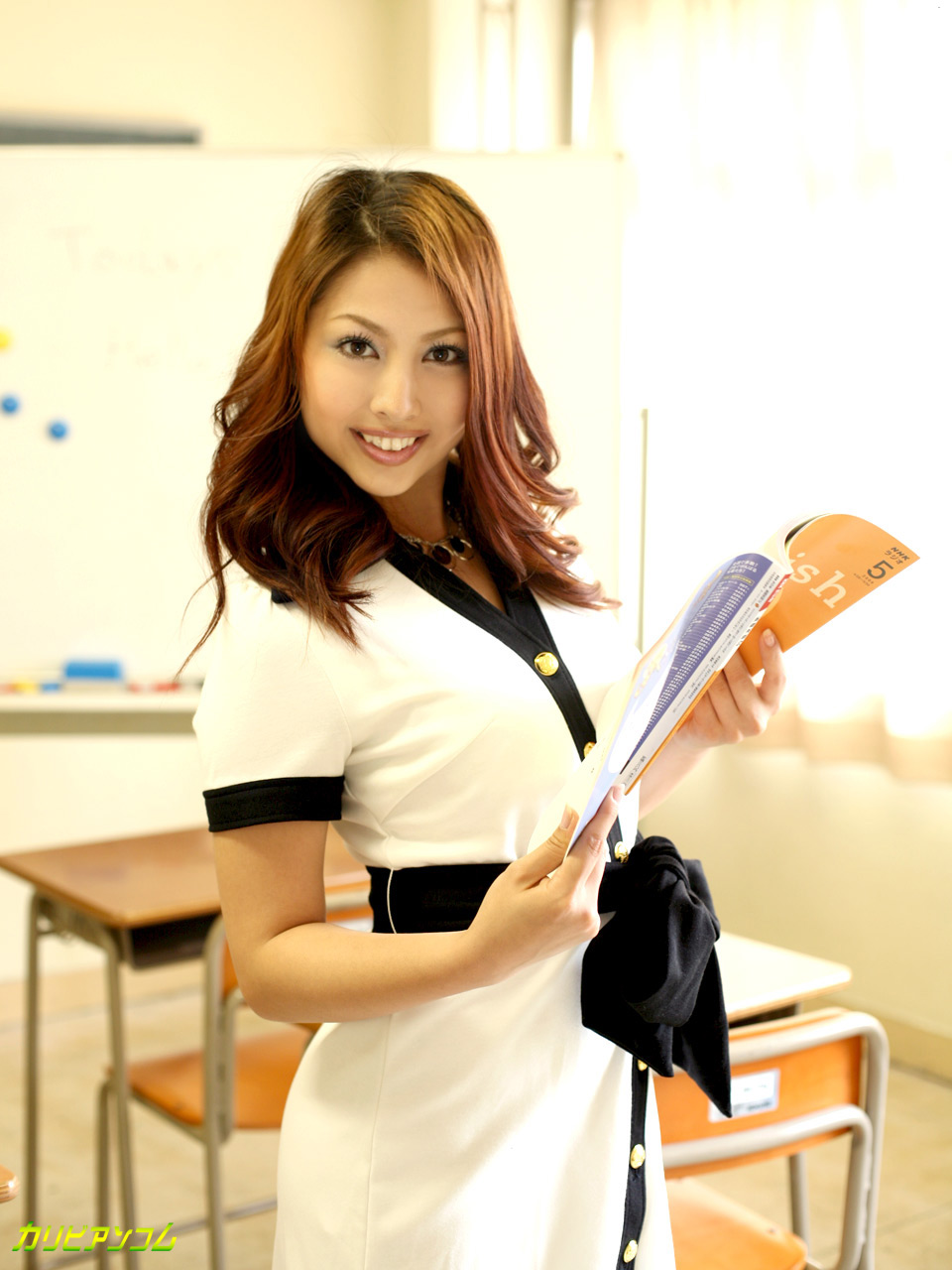 Hello! モニカのエッチな英会話教室 Lesson.2 渡辺モニカ