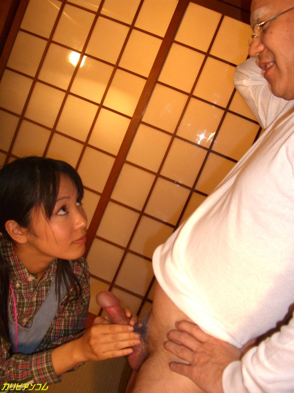 おじいちゃんのおちんちんおっきいよ。〜孫と初めて編〜 ともちゃん