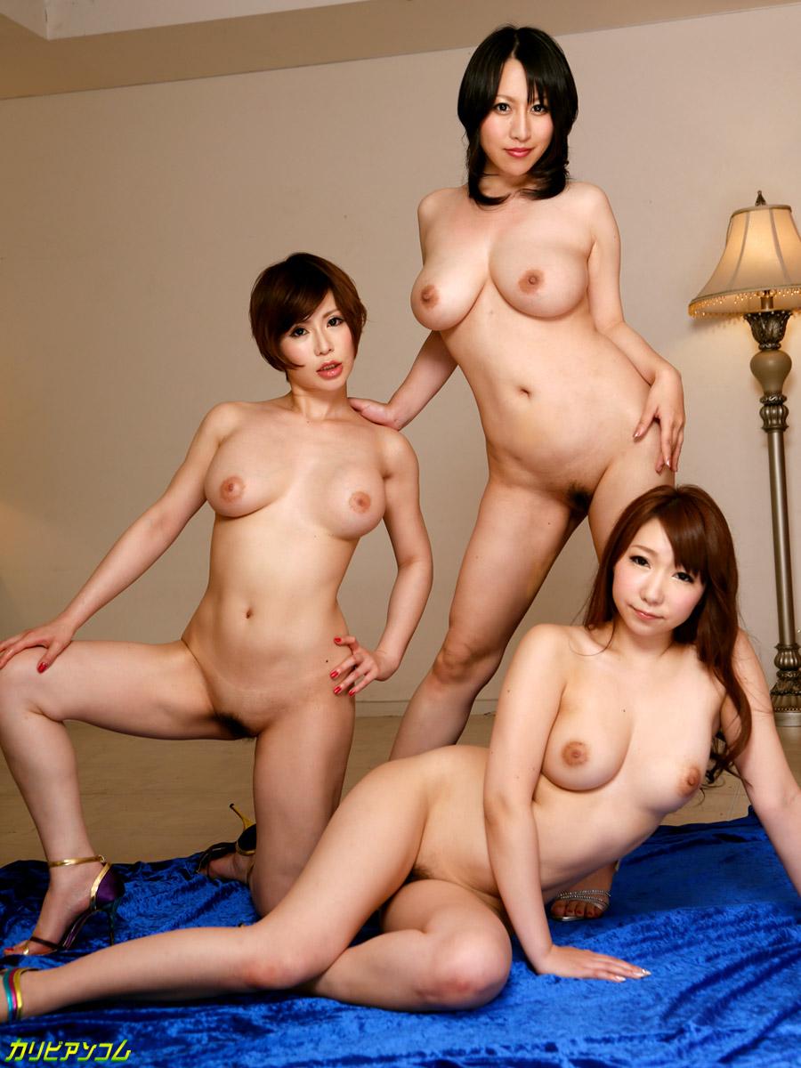 巨乳で痴女で絶品ボディの女たち Vol.9 星咲優菜 桂木ゆに あやなれい